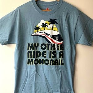 "Disney Parks ""My Other Ride Is A Monorail"" T-Shirt"
